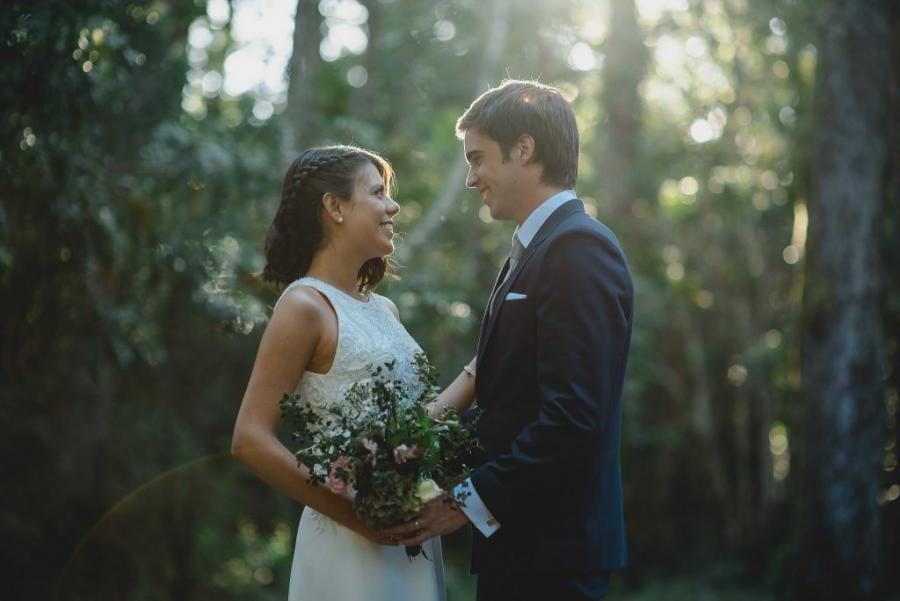 matrimonio al aire libre caburgua