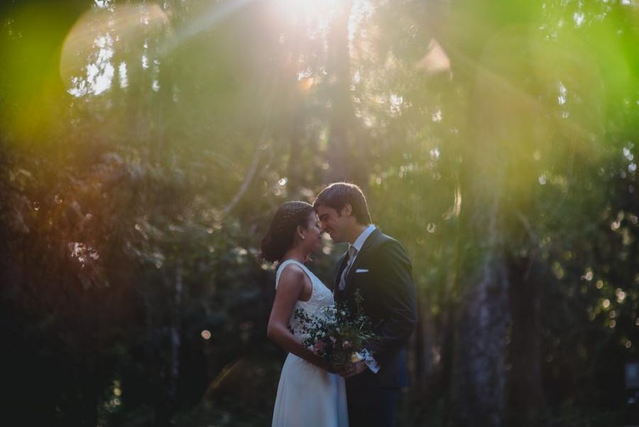 matrimonio al aire libre en caburgua