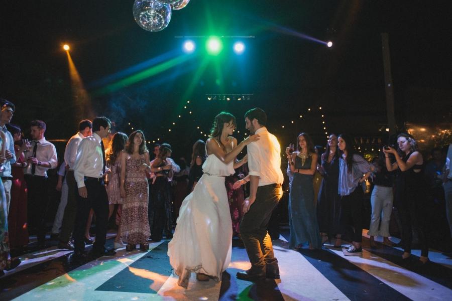 matrimonio al aire libre en santiago