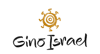 Gino Israel fotógrafo logo